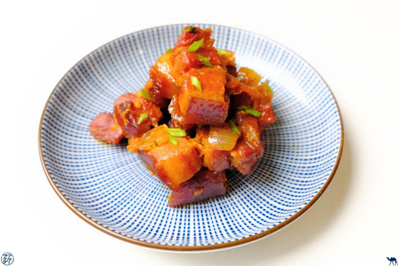 Le Chameau Bleu - Blog Gastronomie - Recette Rougail Porc Fumé