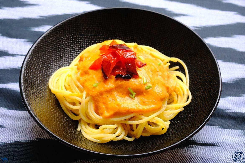 Le Chameau Bleu - Blog Voyage et Cuisine - Recette de Sauce Poivron Rouge et Coco