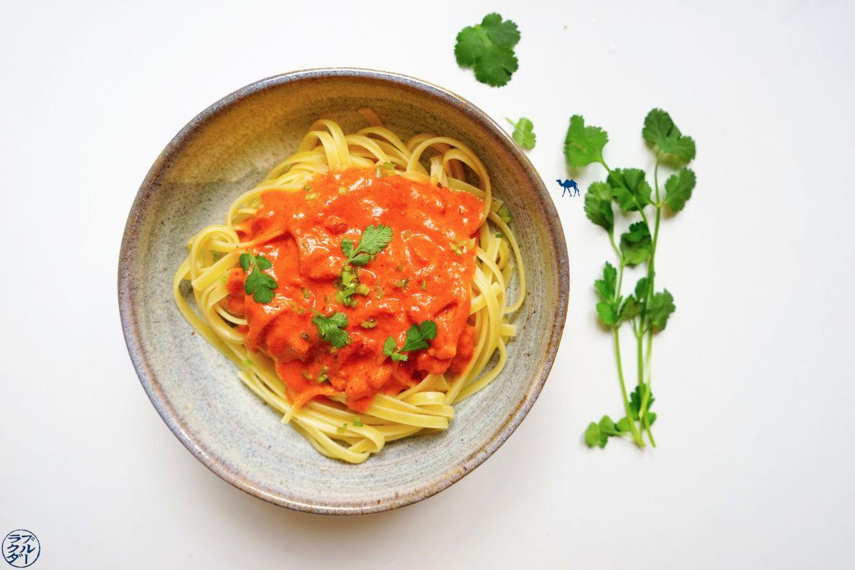 Le Chameau Bleu - Blog Cuisine et Voyage - Recette Rapide Sauce CoCo Tomate Gingembre - Recette asiatique
