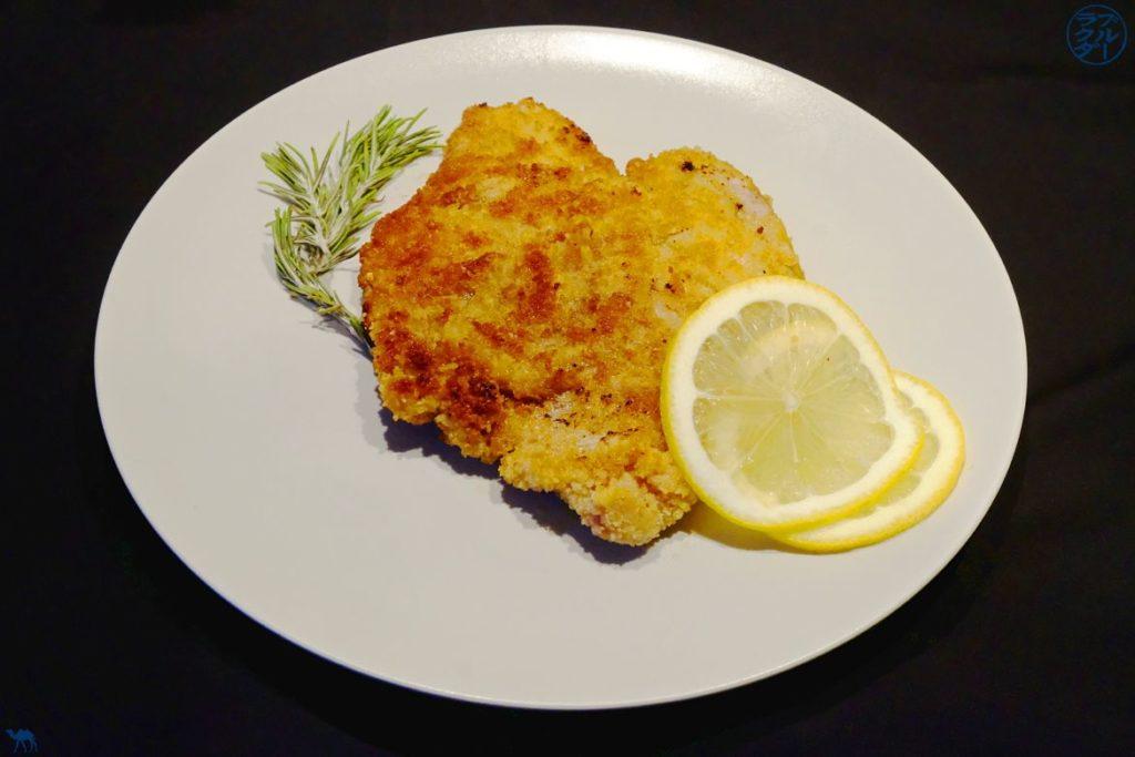 Le Chameau Bleu - Blog Voyage et Cuisine - Recette du Schnitzel - escalope de veau panée