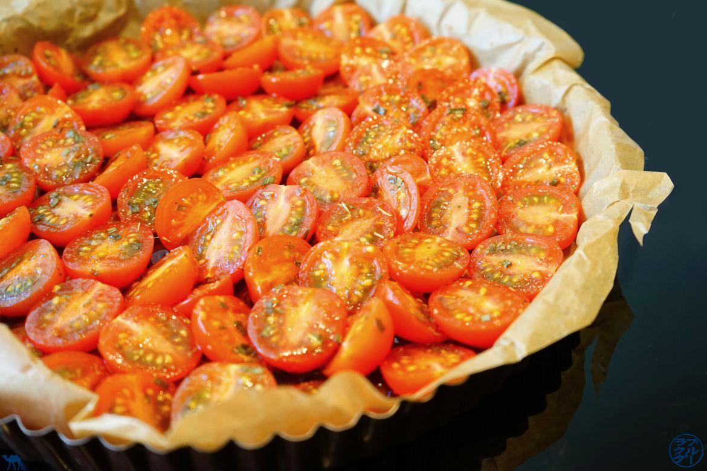 Recette rapide de Tatin de Tomate Cerise - Le Chameau Bleu Blog Cuisine et Voyage