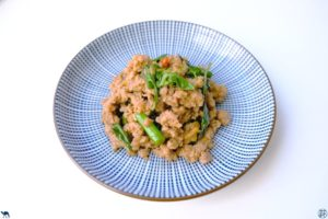 Le Chameau Bleu - Blog Voyage et Cuisine - Recette de Sauté de Porc Haché au Basilic Thai - Pad Kra Pao