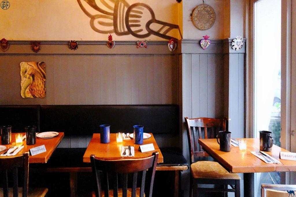 Le Chameau Bleu - Blog Voyage New York - Restaurant Mexicain La Contenta