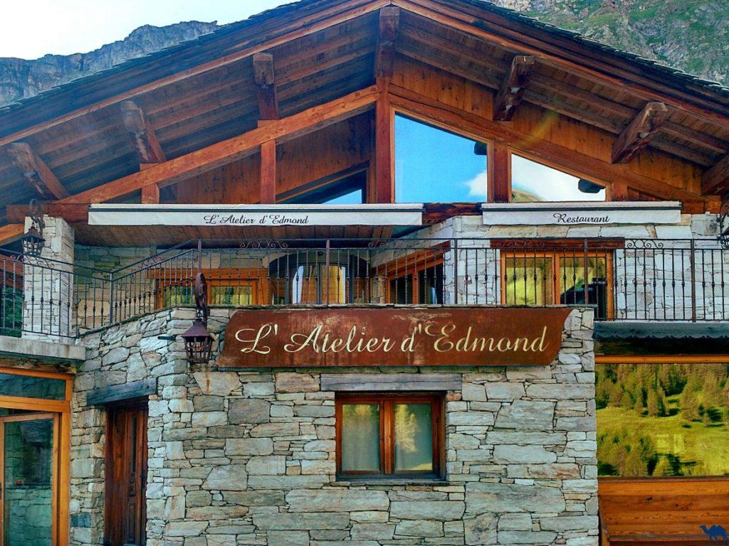 Le Chameau Bleu - Blog Gastronomie - L'atelier d'Edmond Restaurant Gastronomique étoilé Michelin Val d'Isère France