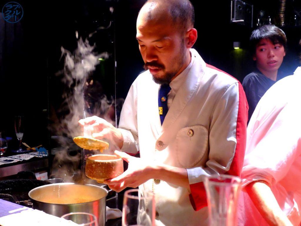 Le Chameau Bleu - Blog Gastronomie et Voyage - Chef Japonais - Restaurant Gastronomique Guilo Guilo Paris