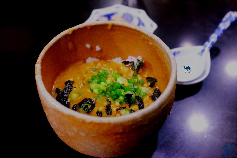 Le Chameau Bleu - Blog Gastronomie et Voyage - Soupe épaisse du restaurant gastronomique Guilo Guilo Montmartre