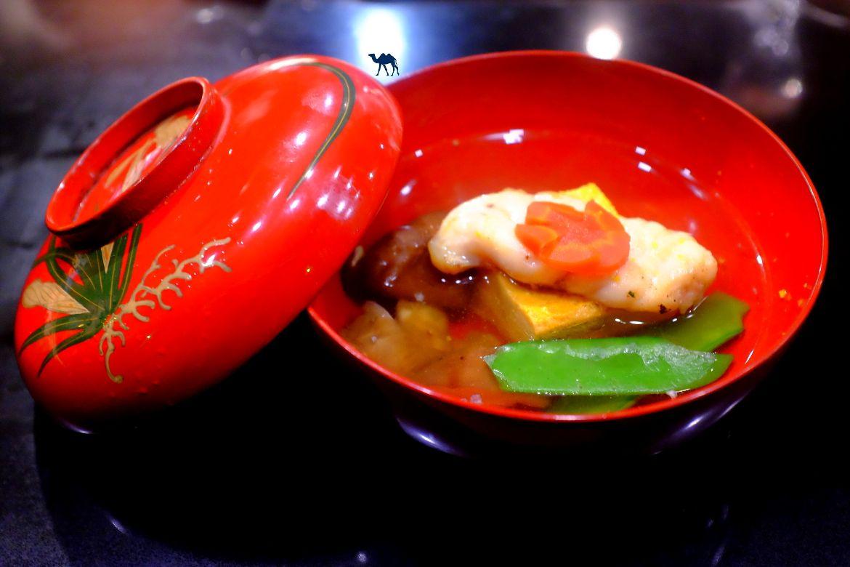 Le Chameau Bleu - Blog Gastronomie et Voyage -Soupe du restaurant gastronomique Guilo Guilo Montmartre