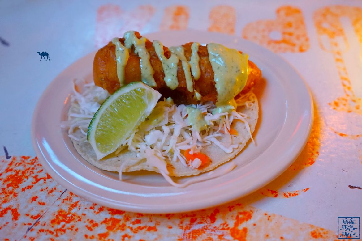 Le Chameau Bleu - Blog Voyage New York City - Tacombi - Crispy Fish Tacos New York USA