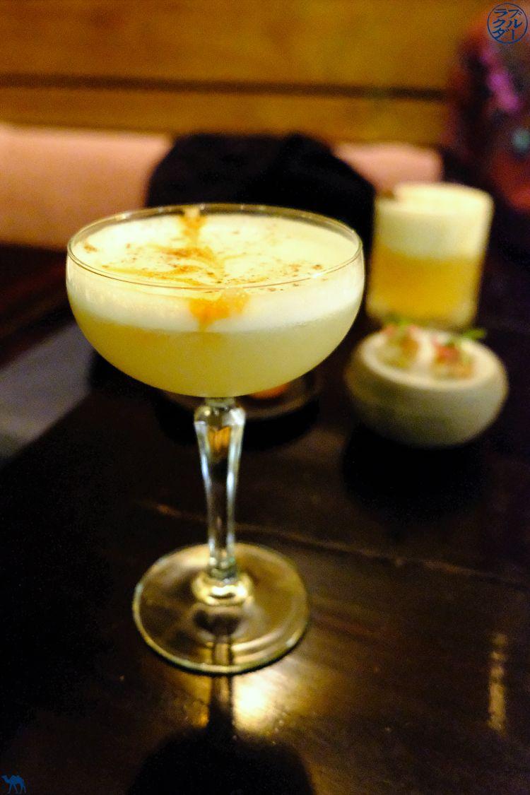 Le Chameau Bleu - Blog Voyage et Gastronomie - Cocktail; Sakura Sur chez Uma restaurant gastronomique Paris