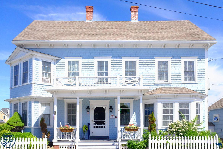 Le Chameau Bleu - Blog Voyage Block Island - Maison typique de la nouvelle Angleterre -Block Island- Rhode Island