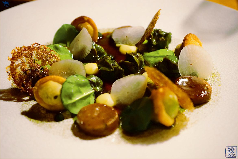 Le Chameau Bleu - Blog Gastronomie Et Voyage - Restaurant Gastronomique l'atelier d'Edmond à Val d'Isere - Escargot