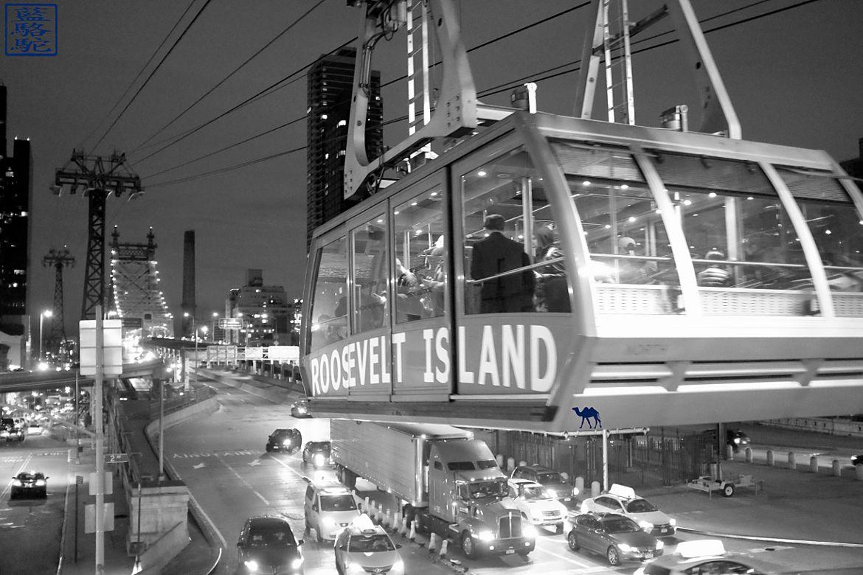 Le Chameau Bleu - Blog Voyage Roosevelt Island - New York -Téléphérique Roosevelt Island
