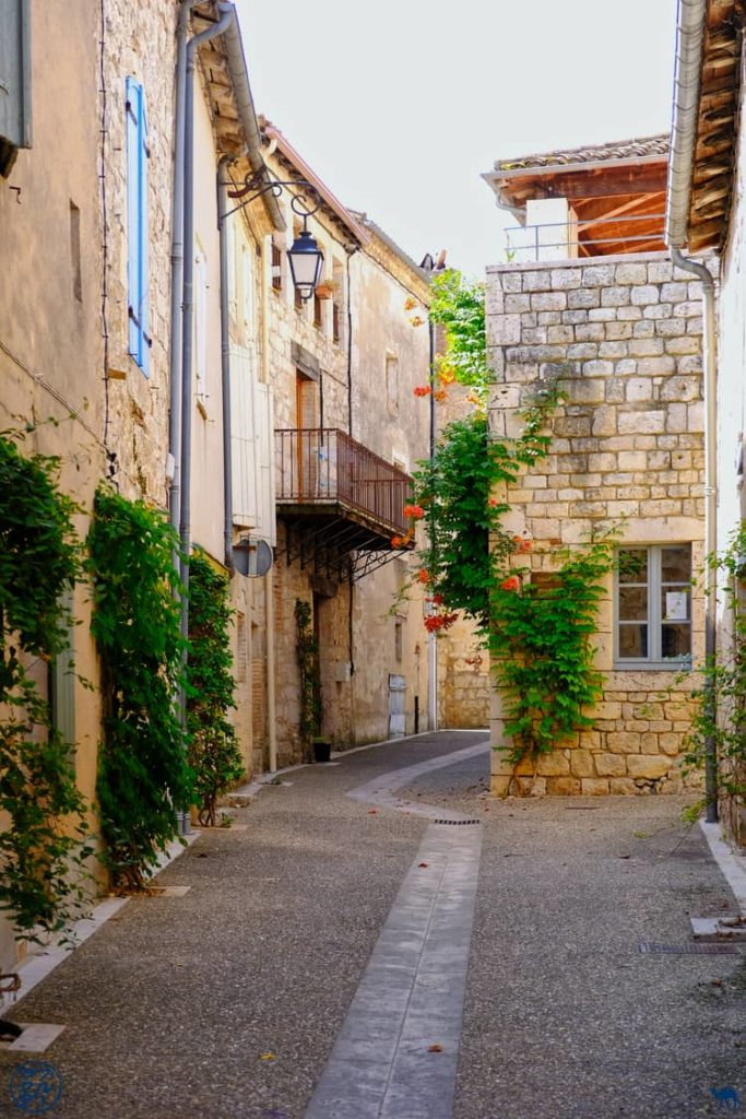 Le Chameau Bleu - Blog Voyage et Gastronomie - Ruelle de Lauzerte - Tarn Et Garonne