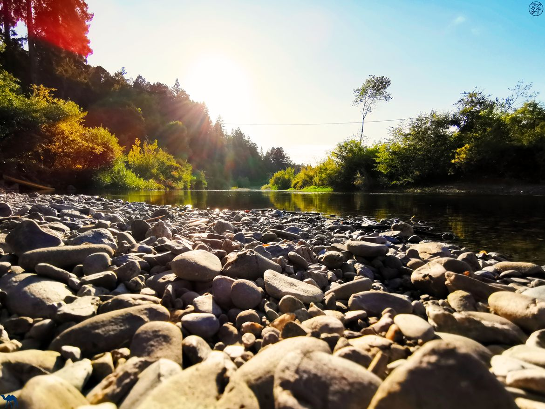 Le Chameau Bleu - Blog Voyage Napa Valley - Coucher de soleil à Russian RIver
