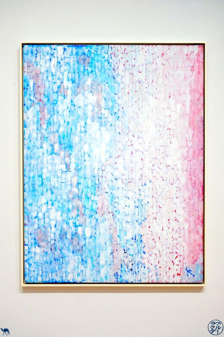 Le Chameau Bleu - Blog Voyage Musée d'art moderne de San Francisco - Cumulus de Alma Thomas