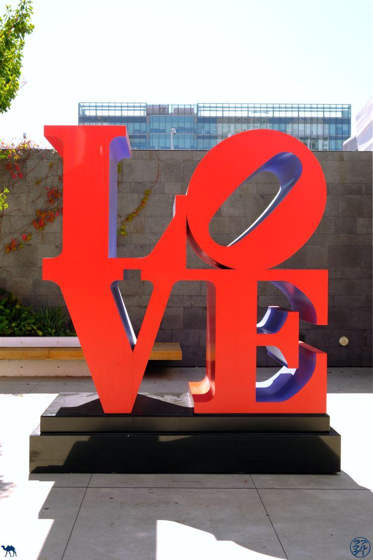 Le Chameau Bleu - Blog Voyage Musée d'art moderne de San Francisco - Love