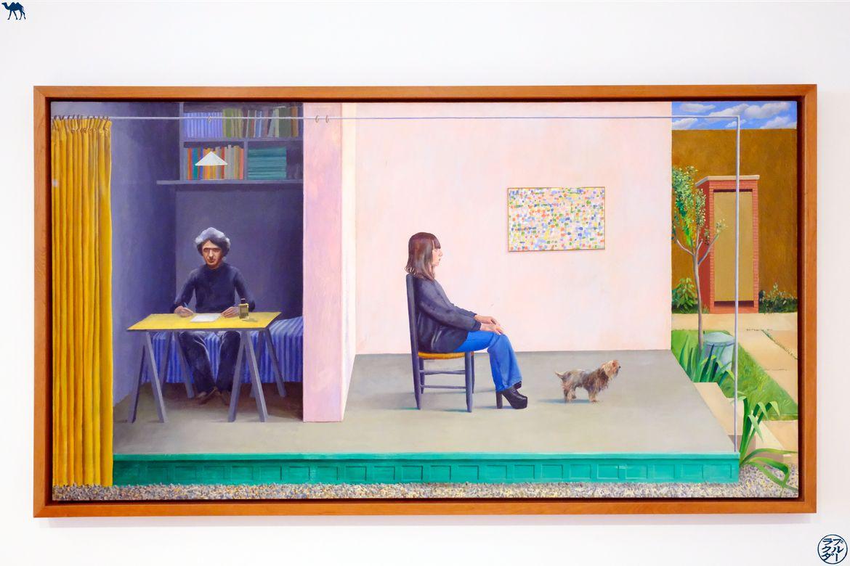 Le Chameau Bleu - Blog Voyage San Francisco - Peinture de David Hockney