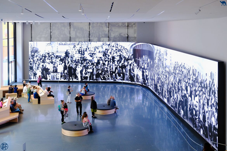 Le Chameau Bleu - Blog Voyage San Francisco - Salle du SFMOMA