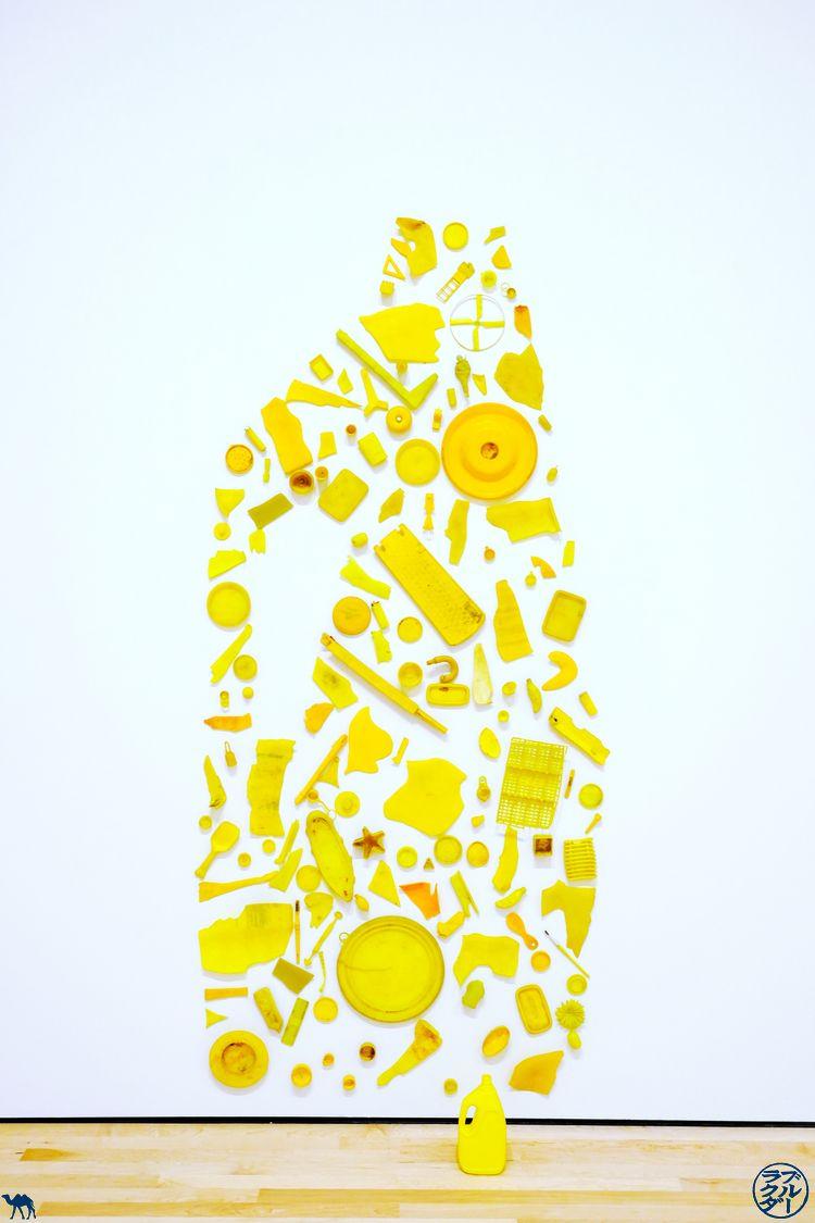Le Chameau Bleu - Blog Voyage San Francisco - SFMOMA et sa sculpture jaune
