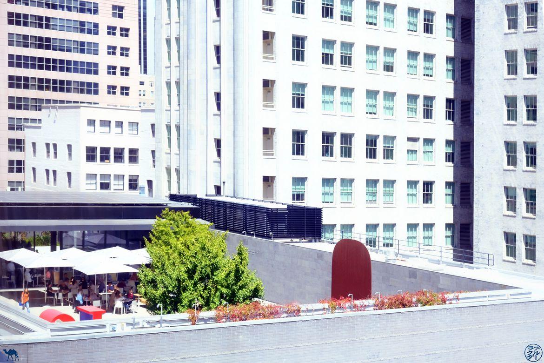 Le Chameau Bleu - Blog Voyage Musée d'art moderne de San Francisco - Terrasse du SFMOMA
