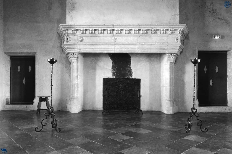 Le Chameau Bleu - Blog Voyage - Lomagne - Salle du château de Gramont - Tarn Et Garonne