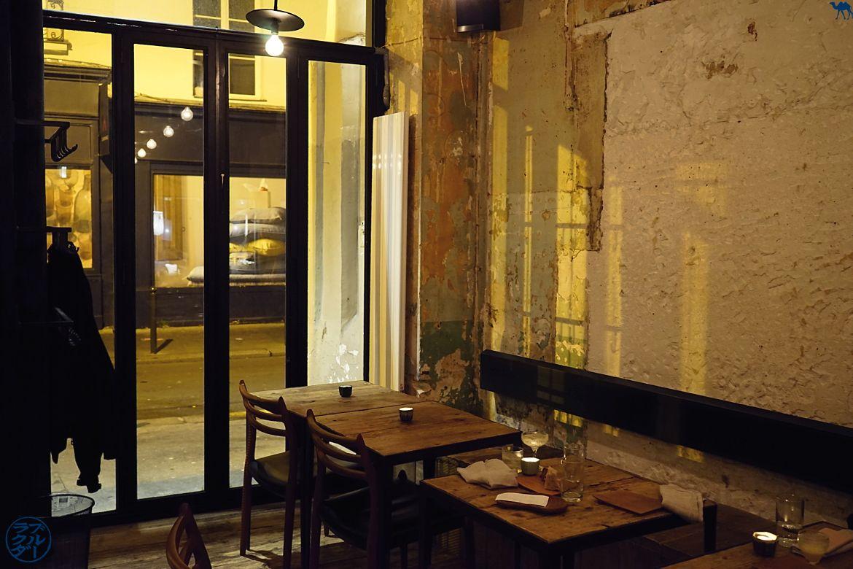 Salle du restaurant gastronomique Dersou à Paris - Le Chameau Bleu Blog Gastronomie