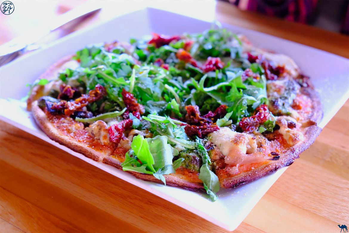 Le Chameau Bleu - Blog Voyage Salt Lake City - Pizza Vegan de Zest Bar