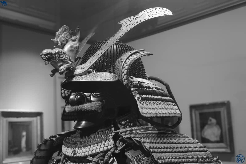 Le Chameau Bleu - Blog Voyage et Cuisine - Samourai - Musée Montauban