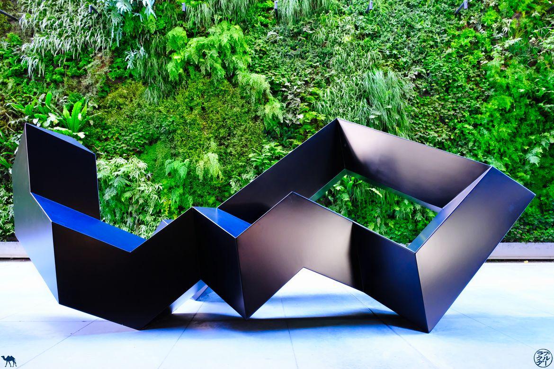 Le Chameau Bleu - Blog Voyage San Francisco - Sculpture du SFMOMA