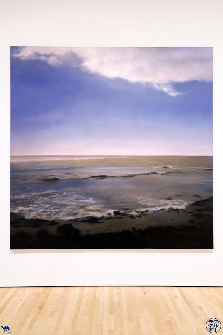 Le Chameau Bleu - Blog Voyage Musée de San Francisco -Oeuvre de Gerhard Richter