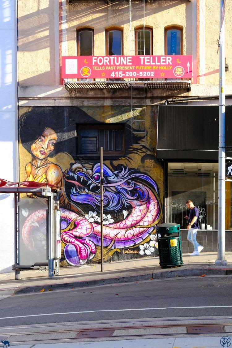 Le Chameau Bleu - Blog Voyage San Francisco - Street Art de Chinatown