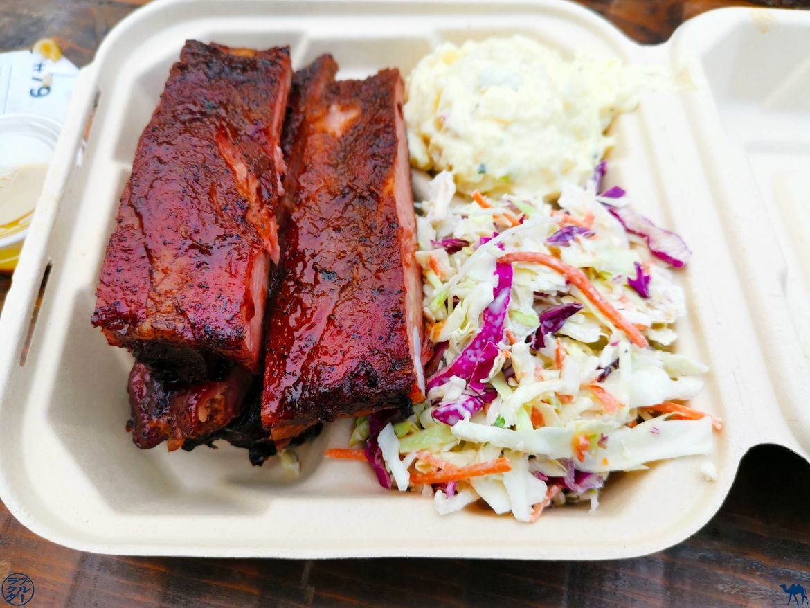 Le Chameau Bleu - Blog Voyage à San Francisco - Off the grid - Food Truck - Ribs
