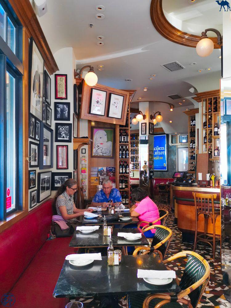 Le Chameau Bleu - Blog Voyage à San Francisco - Intérieur dru Cafe Zoetrope