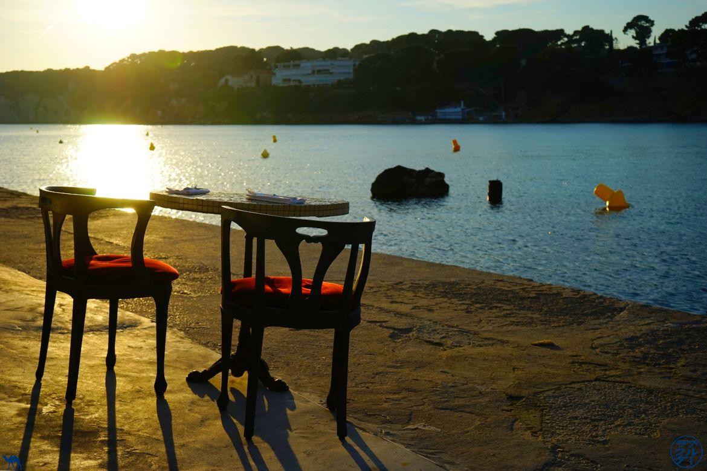 Le Chameau Bleu - Blog Gastronomie et Voyage - O Petit monde Restaurant Sanary - Terrasse d'O petit monde