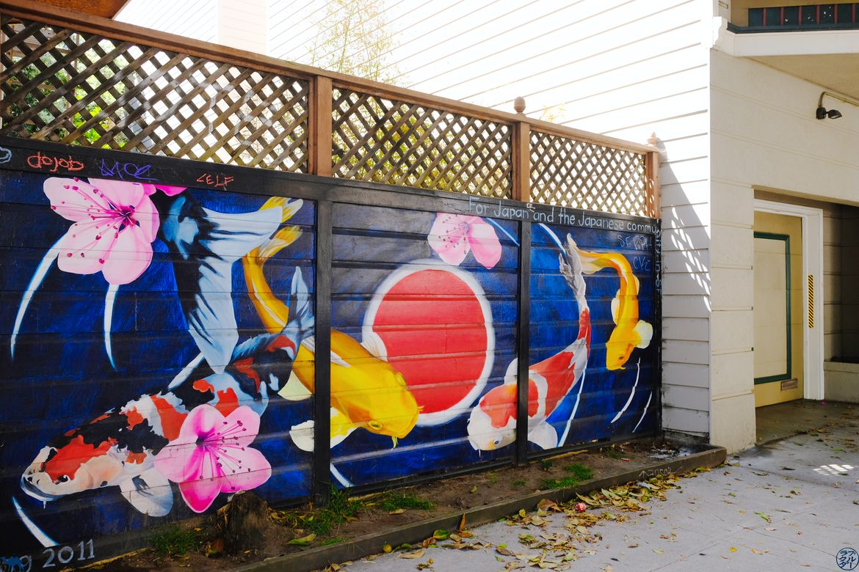Le Chameau Bleu - Blog Voyage San Francisco - Street Art Poisson