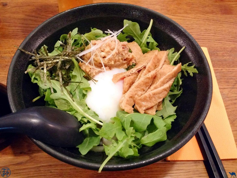 Le Chameau Bleu - Blog Gastronomie - Sanukiya Restaurant Japonais Paris Udon et Porc haché au miso