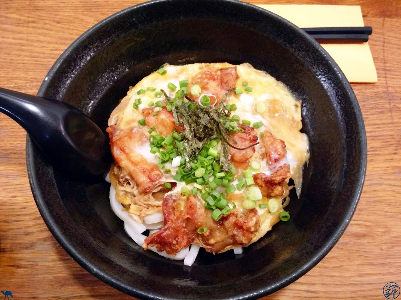 Le Chameau Bleu - Blog Gastronomie - Sanukiya Paris Udon et Omelette au poulet frit du restaurant Sanukiya Paris