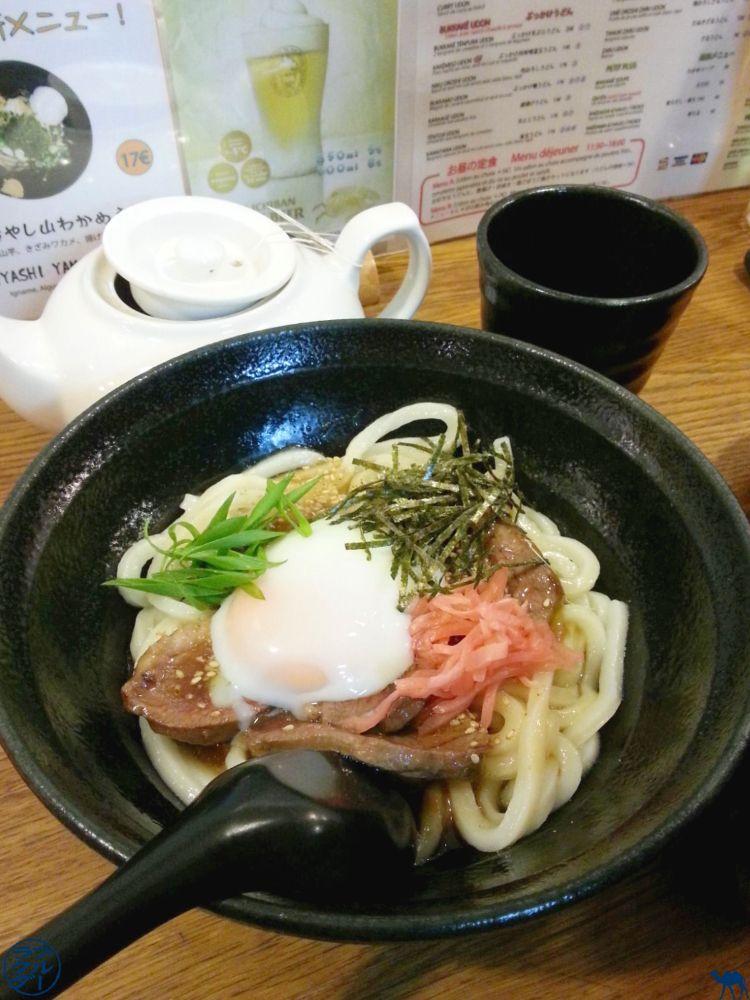 Le Chameau Bleu - Blog Gastronomie- Restaurant Japonais Paris Udon- Sanukiya