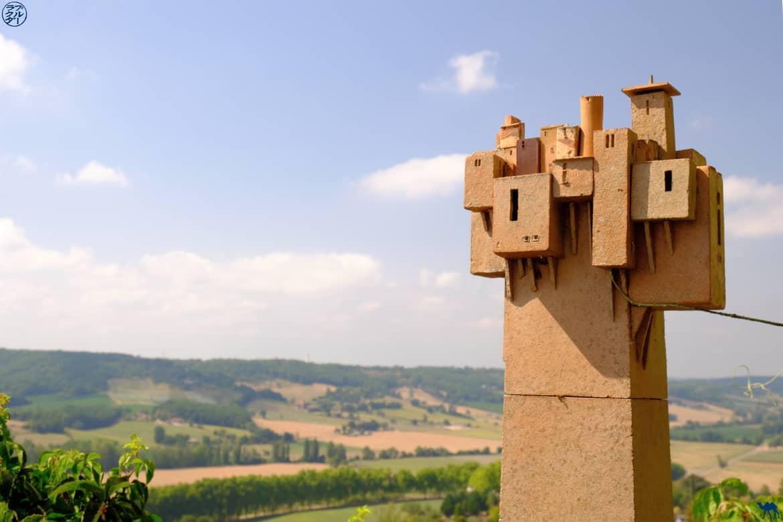Le Chameau Bleu - Blog Voyage et Gastronomie -  Sculpture de Lauzerte - Quercy - Tarn Et Garonne