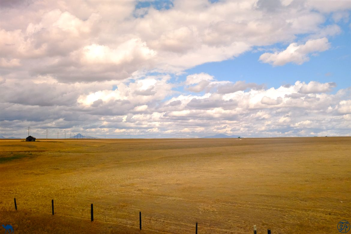 Le Chameau Bleu - Blog Voyage Train Seattle -Chicago - Amtrak Empire Builder - Nuages