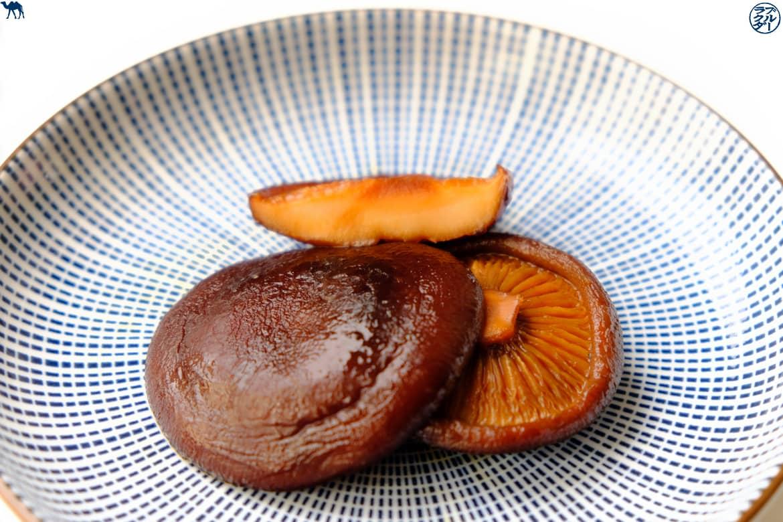 Le Chameau Bleu - Blog Voyage et Cuisine -  Recette japonaise de Shiitakés glacés