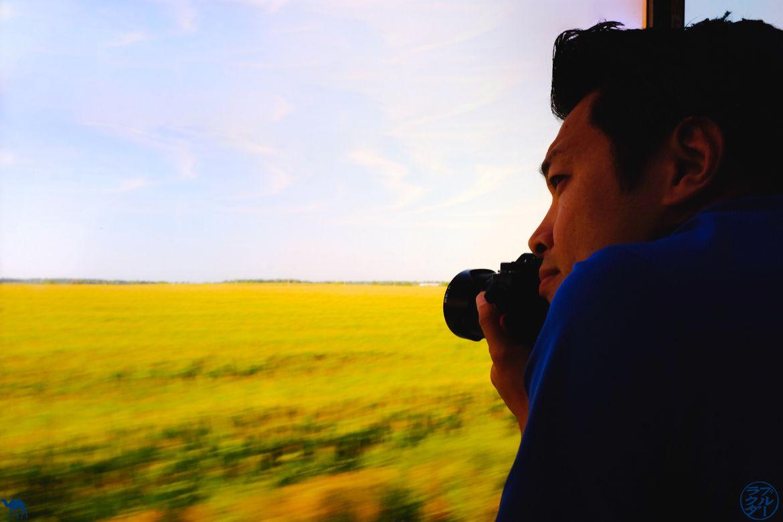 Le Chameau Bleu - Blog Voyage USA - Photo Dans le Zephyr Line Train