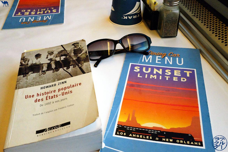 Le Chameau Bleu - Blog Voyage Southwest Chief train - Les repas dans le Train