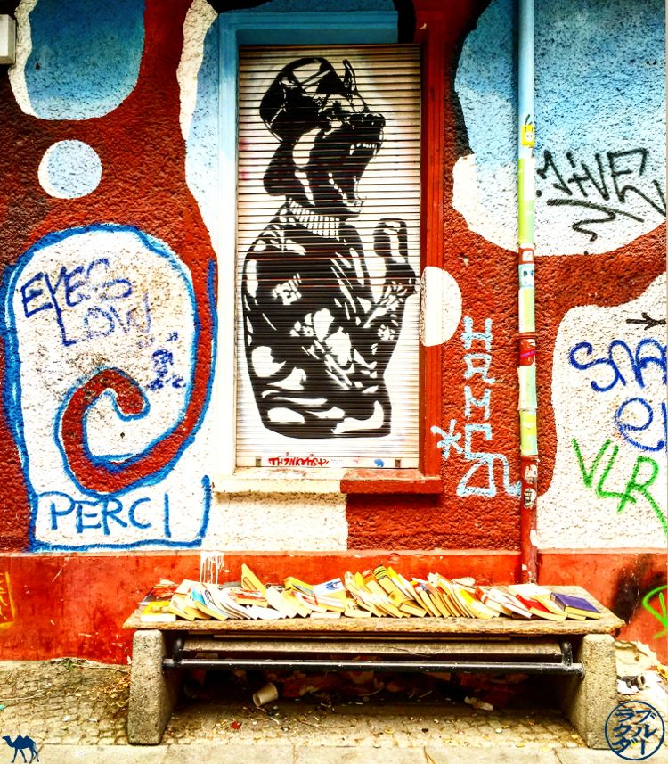 Le Chameau Bleu - Blog Street Art Berlin - Voyage à Berlin Allemagne