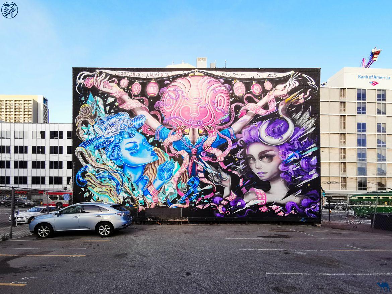 Le Chameau Bleu - Blog Voyage San Francisco - Street Art dans un parking