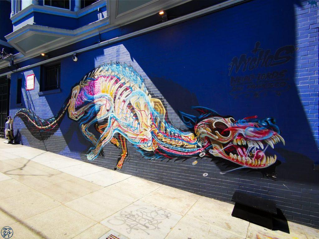 Le Chameau Bleu - Blog Voyage San Francisco - StreetArt Californien