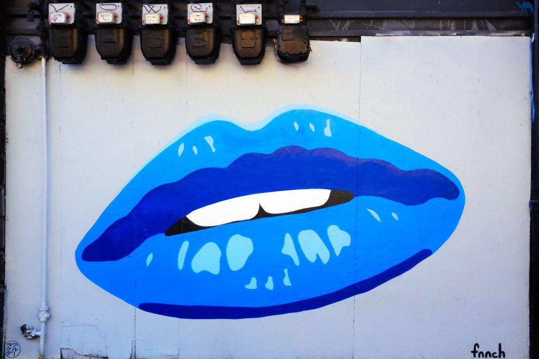 Le Chameau Bleu - Blog Voyage San Francisco - StreetArt Le Baiser
