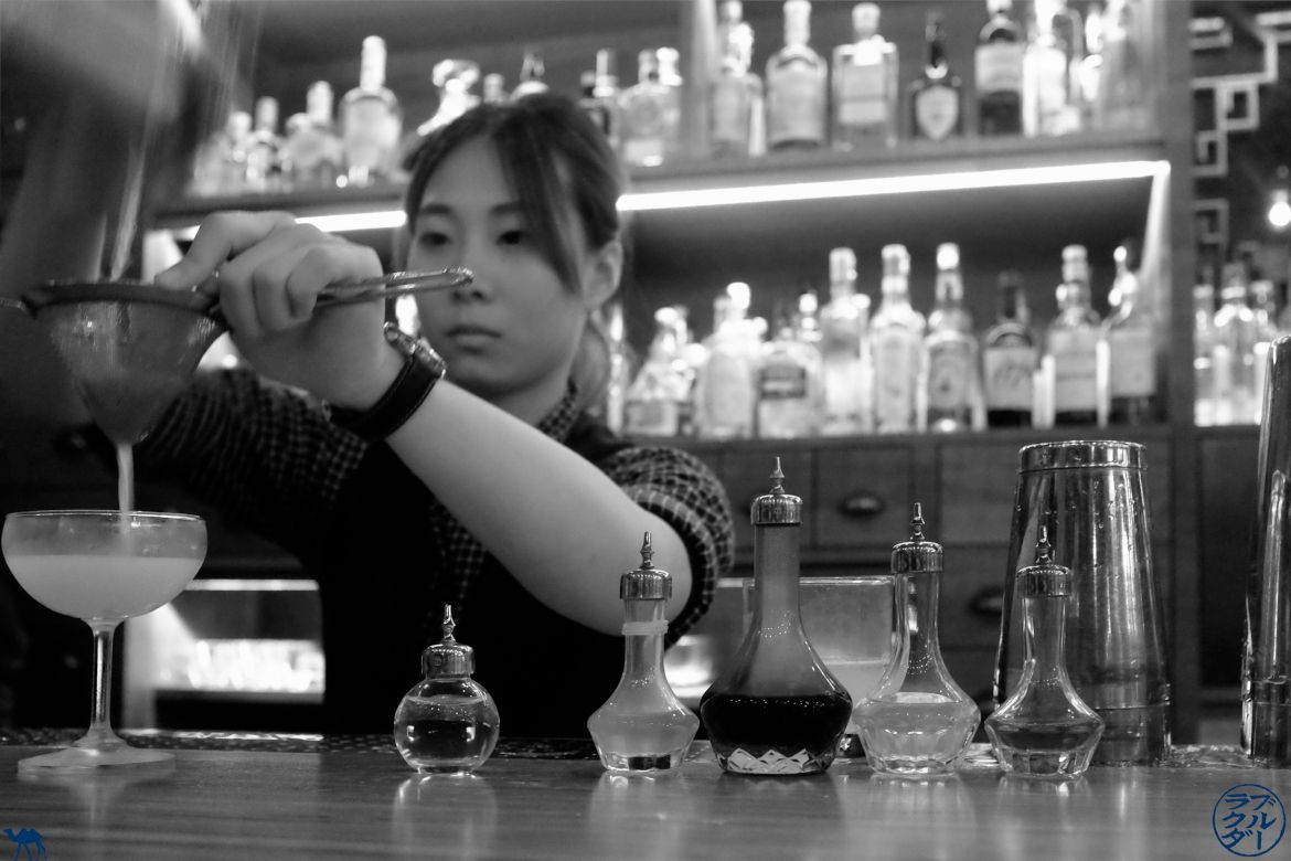Le Chameau Bleu - Blog Bar Taiwan - Barmaid du R&D Cocktail Lab - Taipei - séjour taiwan