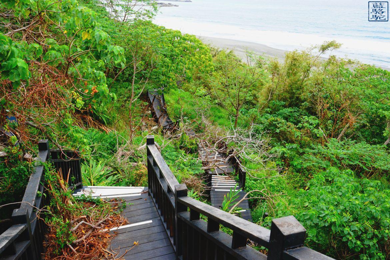 Le Chameau Bleu - Blog Voyage Taiwan - accès impossible sur la plage de Jun Zen - Voyage à Taiwan