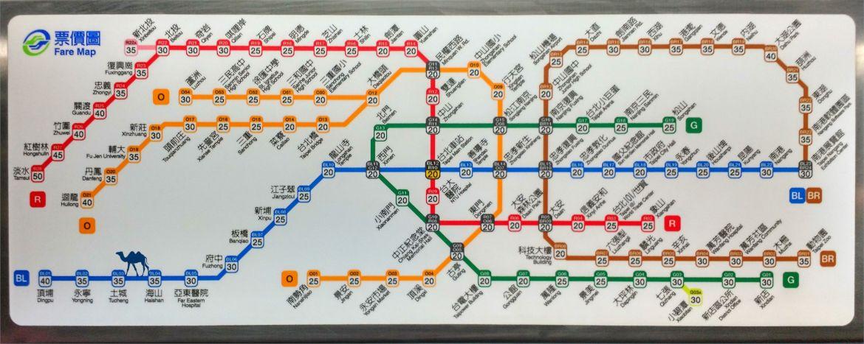 Le Chameau Bleu - Blog Tapei - Métro de Taipei - Transport Taiwan - Information sur Taiwan